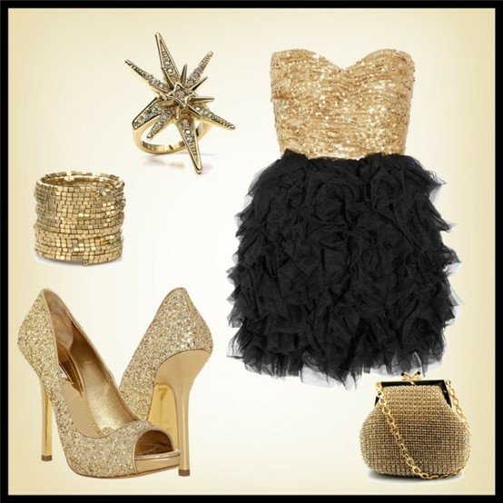 polyvore holiday look