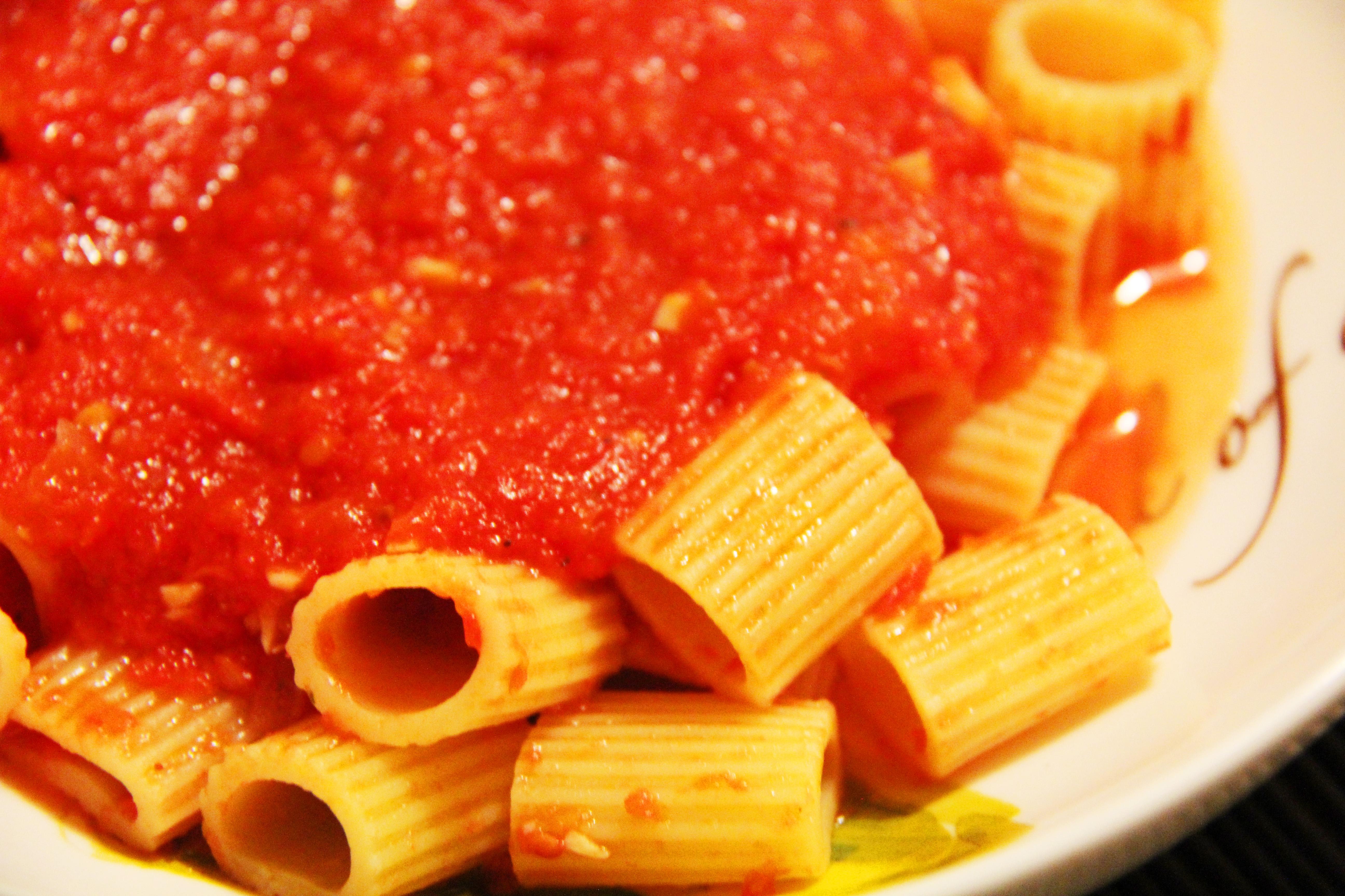 The Best Tomato Sauce In The World Recipe — Dishmaps