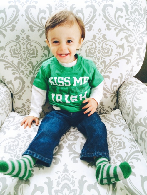 Nico St. Patricks Day
