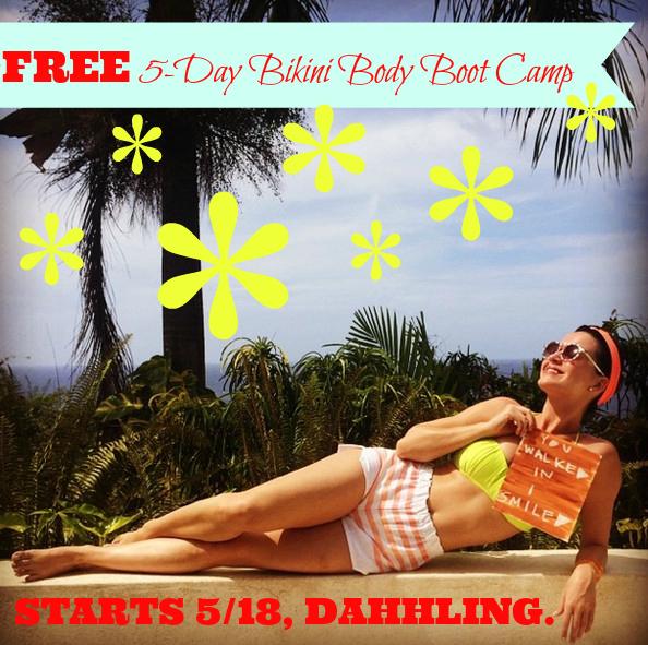 Bikini Body Bootcamp Invite Image