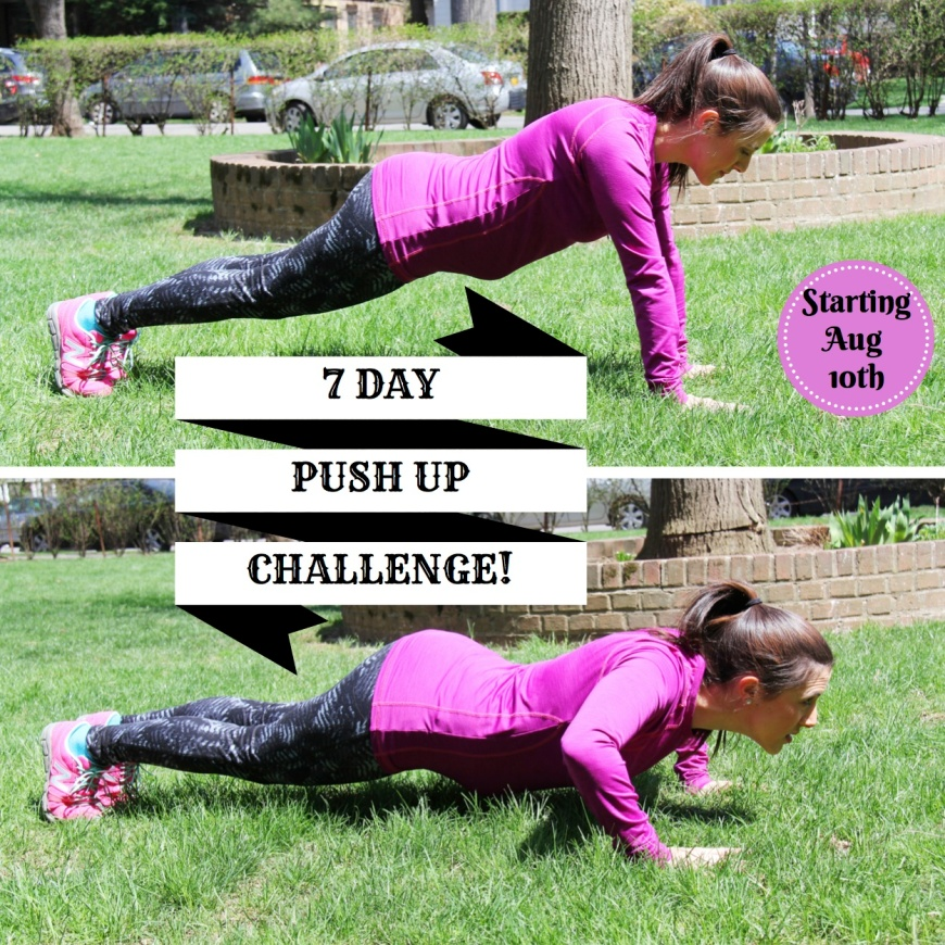 7 DAY Push Up Challenge