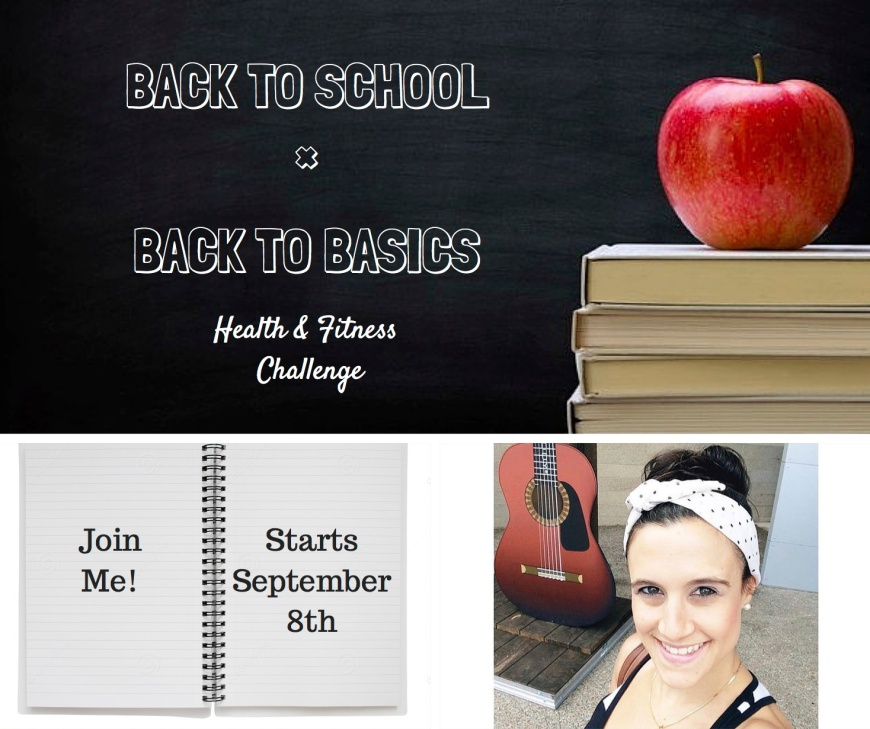 Back to School Back to Basics Invite