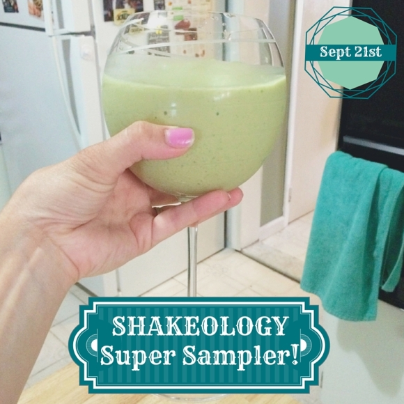 Shakeology Super Sampler Invite