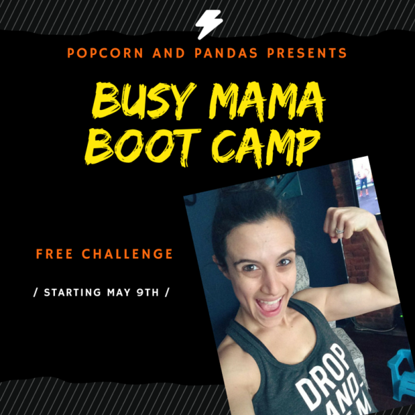 Busy Mama Boot Camp Invite