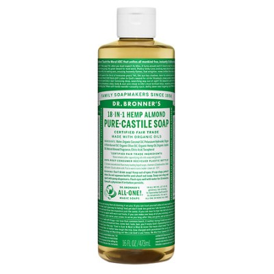 Dr Bronner Bottle