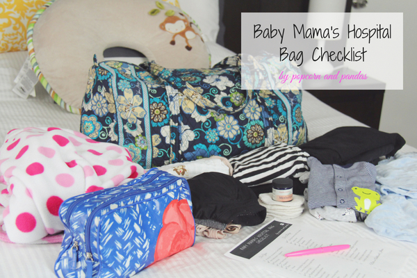 Baby Mama's Hospital Bag Checklist